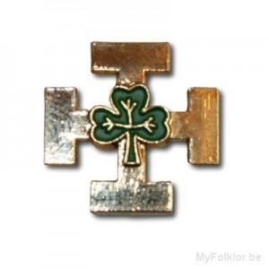 Croix Guides Aventures (Trèfle Vert)